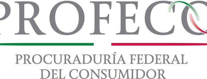 Procuraduría Federal del Consumidor is one of Orte, die Its Maky gefallen.