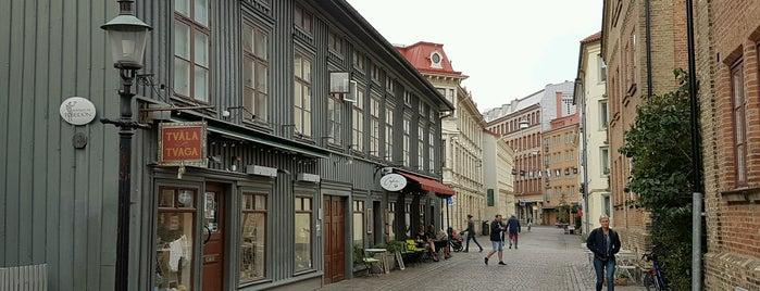Haga is one of Goteborg.