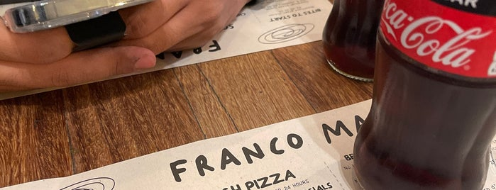 Franco Manca is one of London.