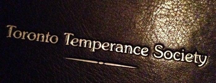 Toronto Temperance Society is one of Boozin'.