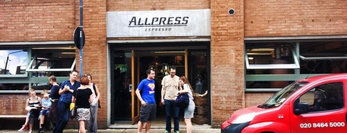 Allpress Espresso Bar is one of Let's go to London!.
