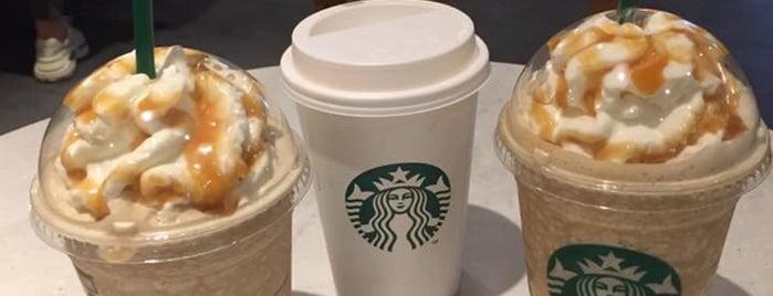 Starbucks is one of Orte, die María gefallen.