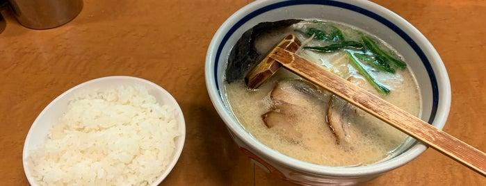 麺友 一誠 is one of 高田馬場ラーメン.