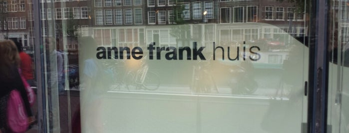 Casa de Ana Frank is one of Amsterdam.