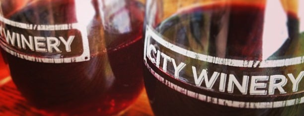 City Winery is one of nyc drinks.