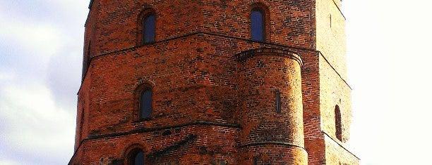 Gedimino Pilies Bokštas | Gediminas' Tower of the Upper Castle is one of Вильнюс.