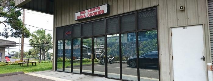 Mrs. Barry's Kona Cookies is one of Big Island.