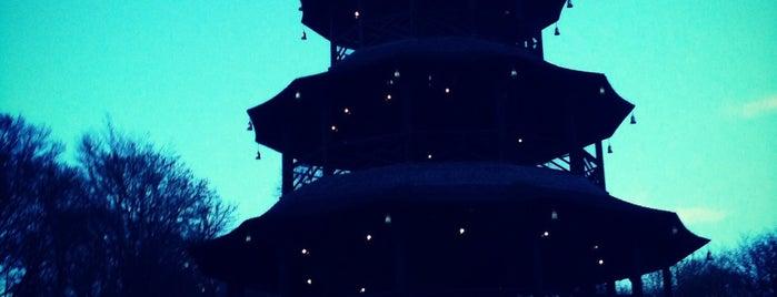 Biergarten am Chinesischen Turm is one of Lieux qui ont plu à Joy 🍀.