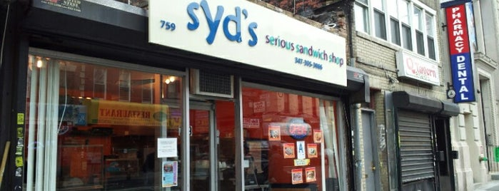 Syd's Serious Sandwich Shop is one of Corcoran's Most Popular Tips In Brooklyn MegaList.