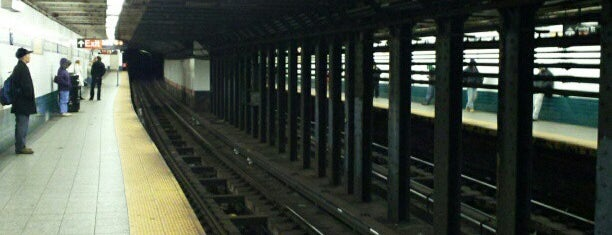 MTA Subway - Canal St (6/J/N/Q/R/W/Z) is one of New York City Spots.