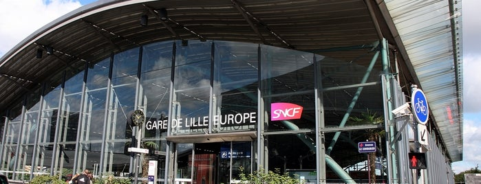Gare SNCF de Lille Europe is one of لندن.