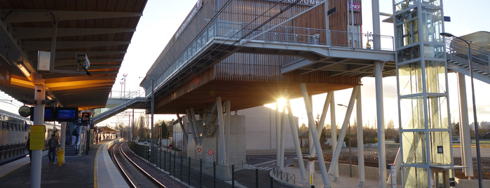RER Créteil Pompadour — Parc Interdépartemental des Sports [D] is one of Went before.