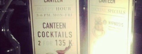 Canteen is one of The Happening Spot around Jakarta.