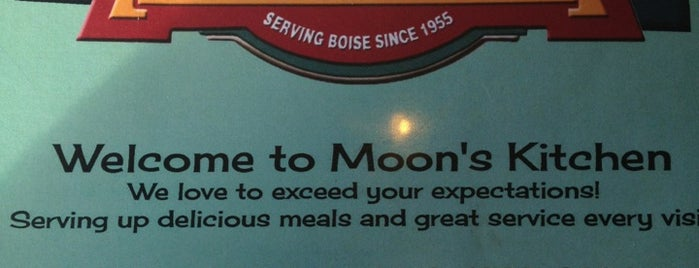 Moon's Kitchen Cafe is one of Boise.