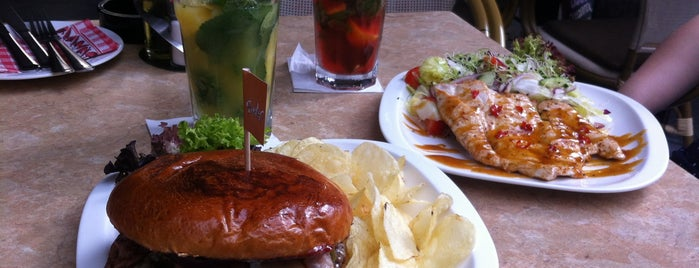 Suelto Café & Grill is one of BURGER..