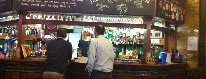 Marble Arch Inn is one of World's Best Bars and Pubs.