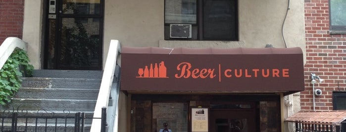 Beer Culture is one of New Beer Spots in NYC.
