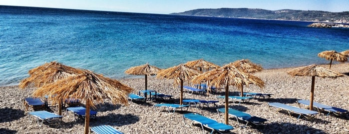 Agia Fotini Beach is one of Sakız.