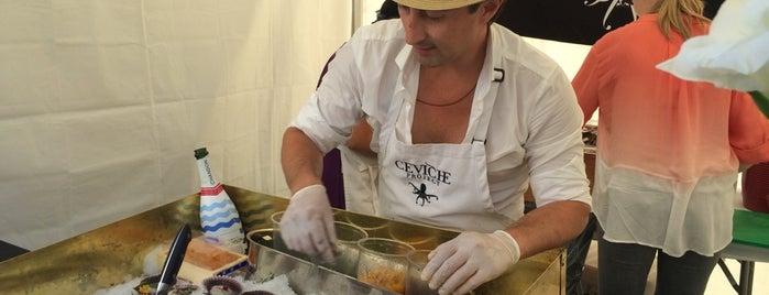 LA Street Food Fest is one of สถานที่ที่บันทึกไว้ของ Ernesto (Tequila Man).