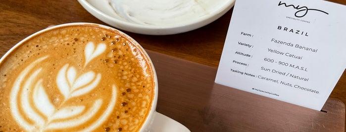 My Speciality Coffee is one of Dubai.