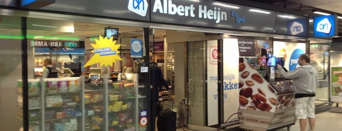 Albert Heijn to go is one of Schiphol.
