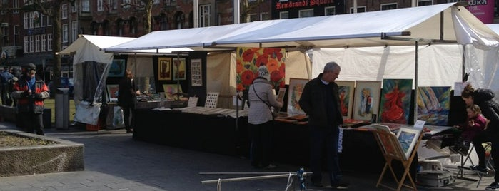 Rembrandt Art Market is one of amsterdam.