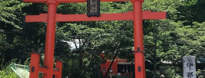 伊那下神社 is one of Lugares favoritos de Masahiro.