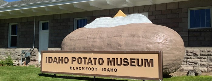Idaho Potato Museum is one of May Road Trip.