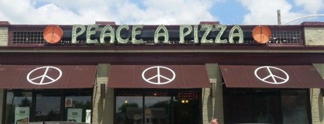 Peace A Pizza is one of Orte, die Katharine gefallen.