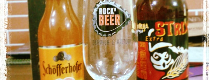 Rock N Beer is one of Preciso visitar - Loja/Bar - Cervejas de Verdade.