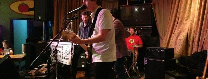 Rockin' Tomato Pizza Company is one of BEAR LANGUAGE SXSW + SPRING TOUR 2013.
