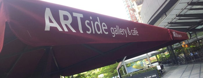 ARTside ( Gallery & Cafe ) is one of Kopi Places.