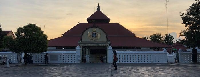 Masjid Gedhe Kauman is one of Java / Indonesien.