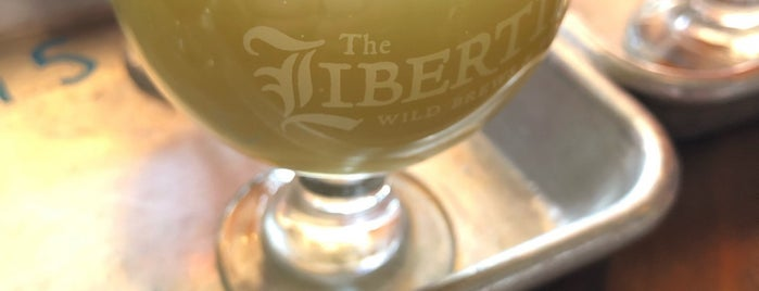 The Libertine Brewing Company is one of California.