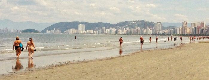 Praia do Embaré is one of Praias da Baixada Santista.