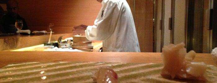 Ichimura at Brushstroke is one of NYC - One Star Michelin Restaurants.