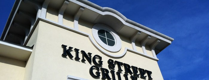 King Street Grille is one of Lugares guardados de Lizzie.