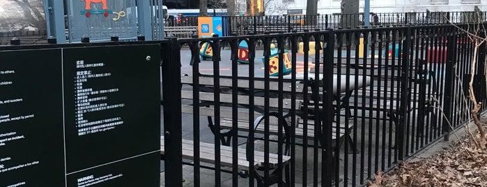 Madison Square Playground is one of Locais salvos de Sandra.