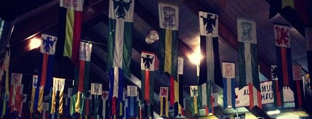Queensmount Arena is one of Kitchener Waterloo Oktoberfest Festhallen.