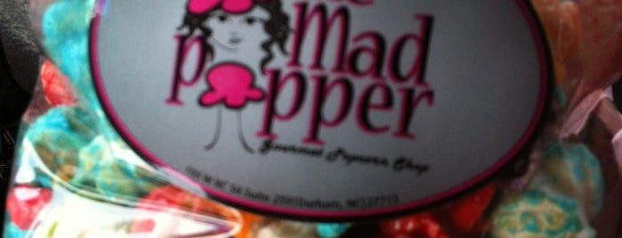 The Mad Popper is one of Durham Favorites.