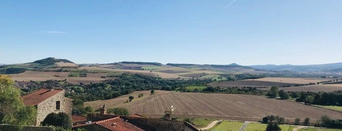 Montpeyroux is one of Les plus beaux villages de France.