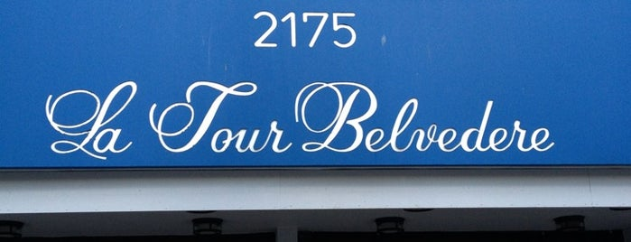 La Tour Belvédère is one of My Montreal Canada Places.