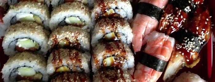 Sushi Panda Takeaway & Sushicafe is one of Sushi Sampler.