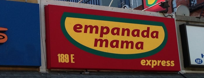 Empanada Mama Express is one of Manhattan Eats.