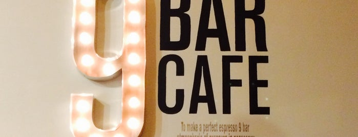 9 Bar Cafe is one of Downtown Jersey City Explorations.