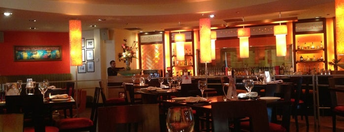 Asha's - Contemporary Indian Restaurant is one of Dubai's very best Places = P.Favs.