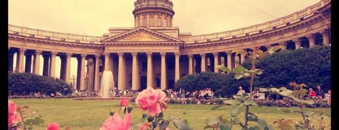 The Kazan Cathedral is one of Russia.