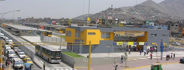 Estación Naranjal - Metropolitano is one of Locais curtidos por Pedro Enrique.