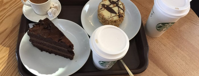 Starbucks is one of Kemo 님이 좋아한 장소.