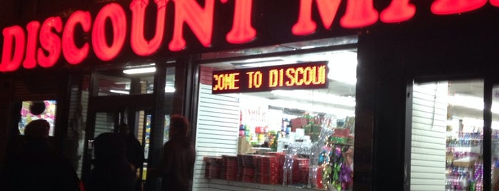 Discount Mart is one of Lugares guardados de Rozanne.